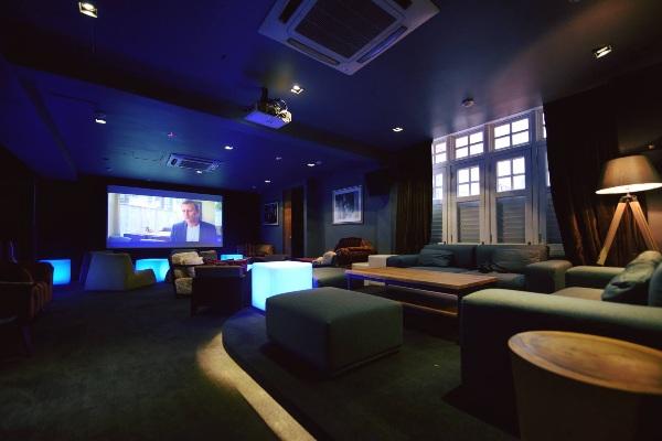 the screening room unique restaurants singapore