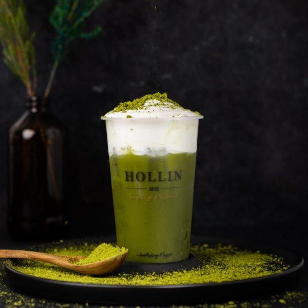hollin green matcha foam pearl variety