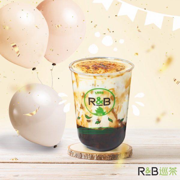 best bubble tea singapore r&b brown sugar boba milk cheese brulee