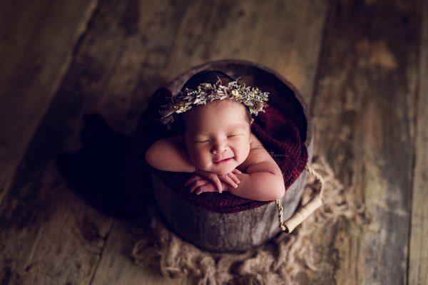 newborn photography singapore bows and ribbons studio