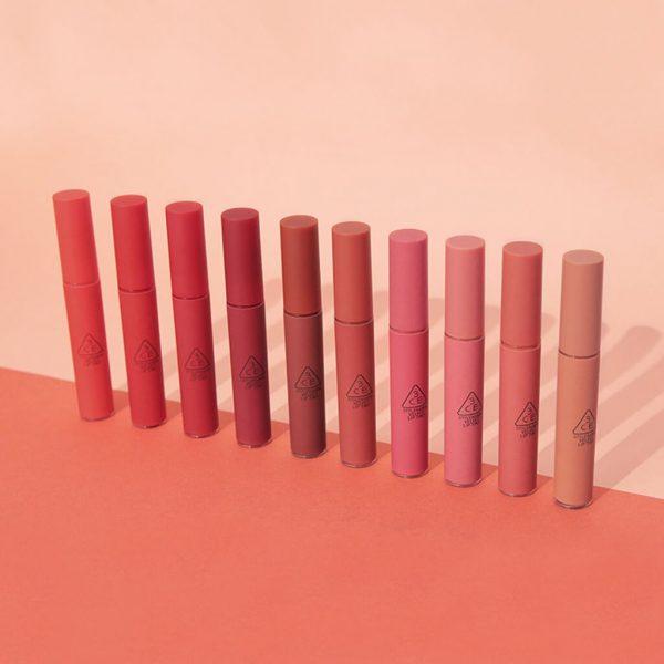 long lasting lipstick 3ce velvet lip tint korea