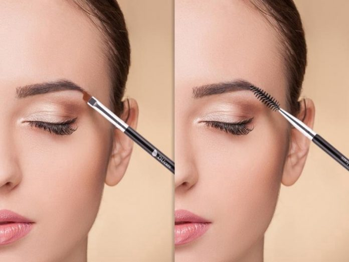 how to draw eyebrows makeup brow brush pencil spoolie
