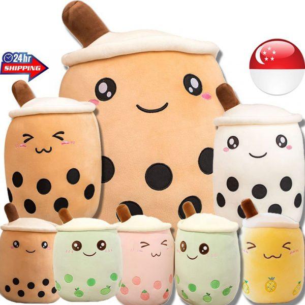 bubble tea plushie cute merchandise