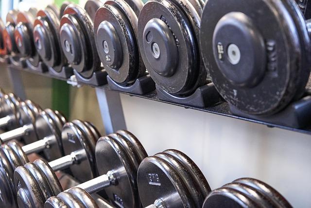 dumbbells gym for beginners