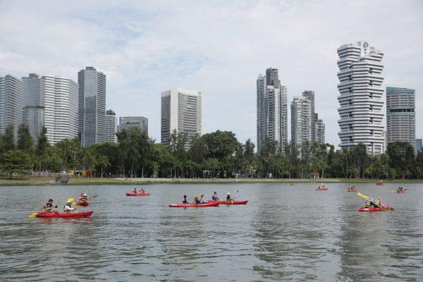 kayaking water sports singapore
