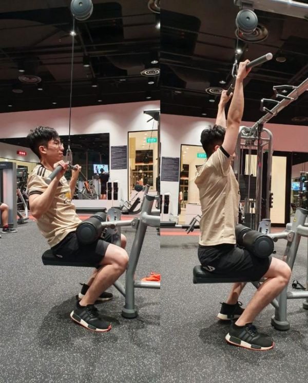 lat pulldown gym for beginners