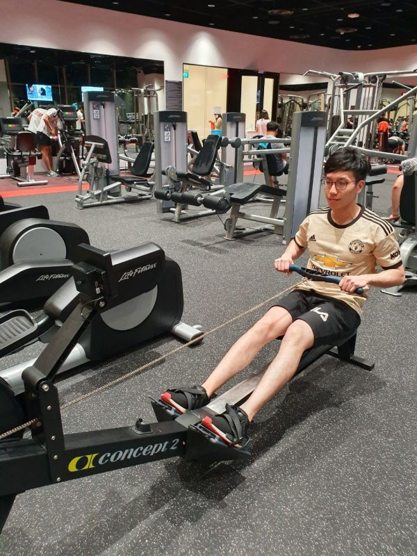 rower gym for beginners