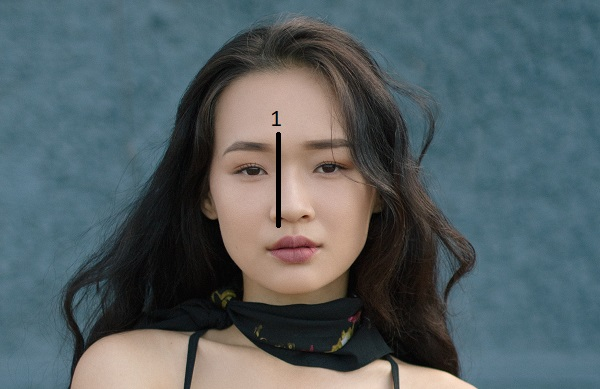 how to draw eyebrows tip asian girl