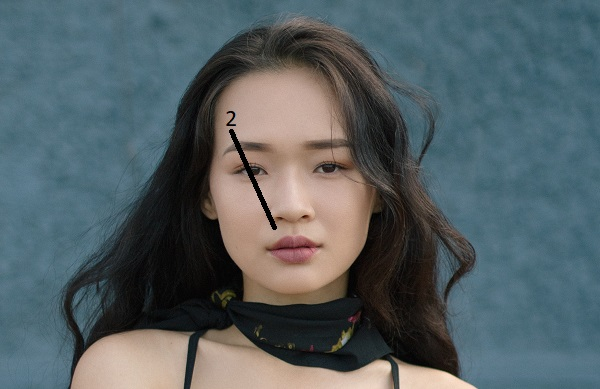 how to draw eyebrows arch asian girl