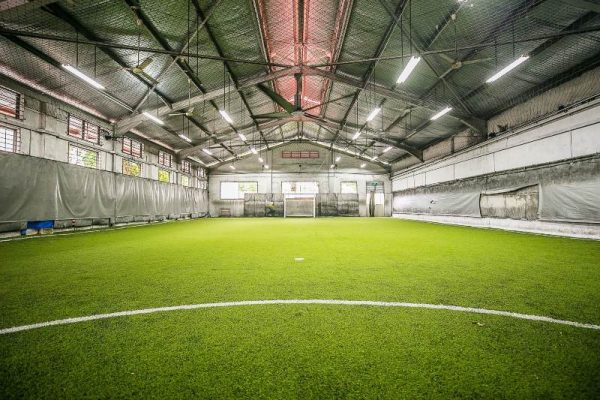 the cage futsal pitches in singapore