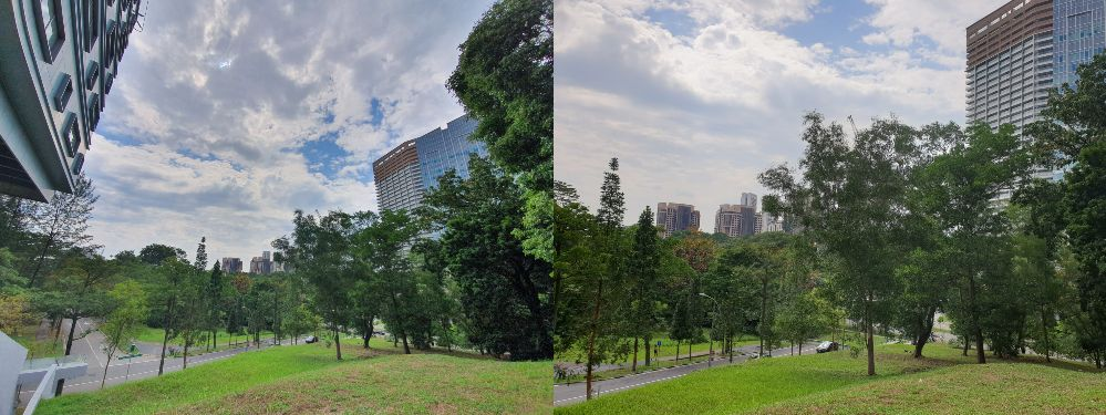 samsung galaxy note10+ review wide lens comparison