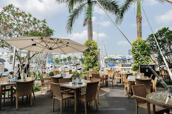 romantic restaurant singapore prive keppel bay