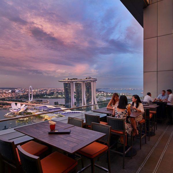 romantic restaurants singapore level33 microbrewery