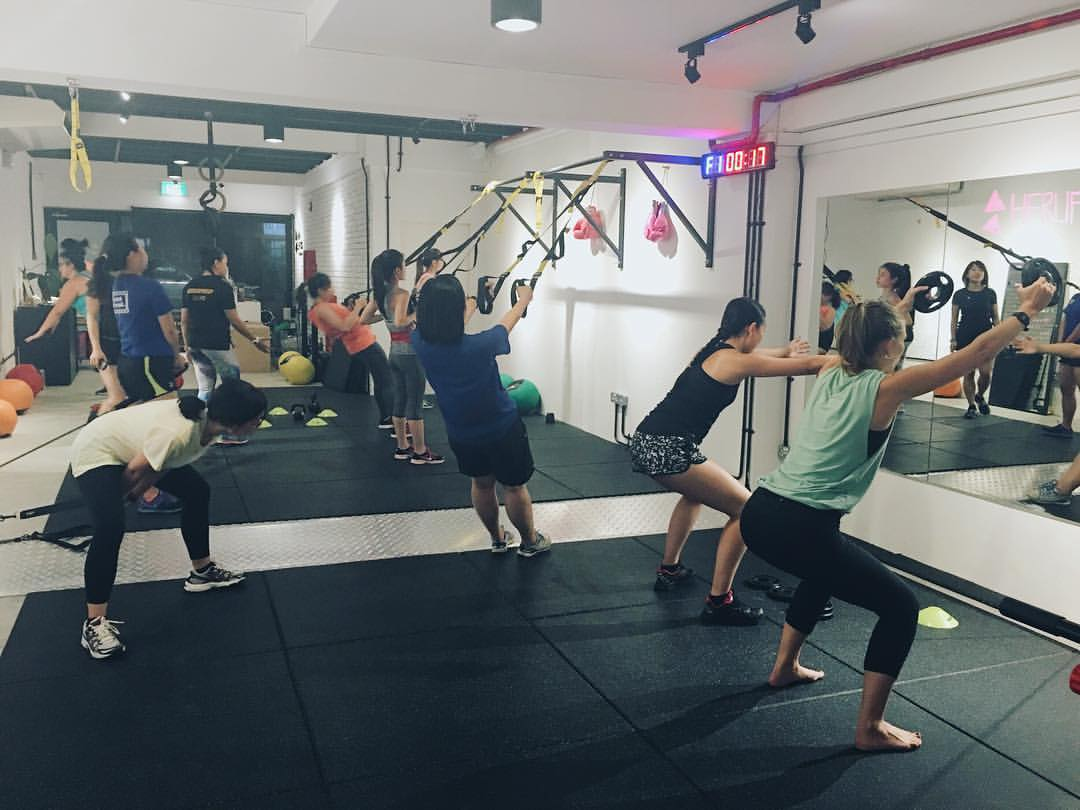 herlifts fitness ladies gym singapore