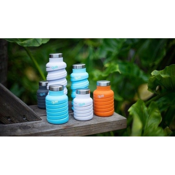 Que® 20oz (600mL) Collapsible Silicone Bottle