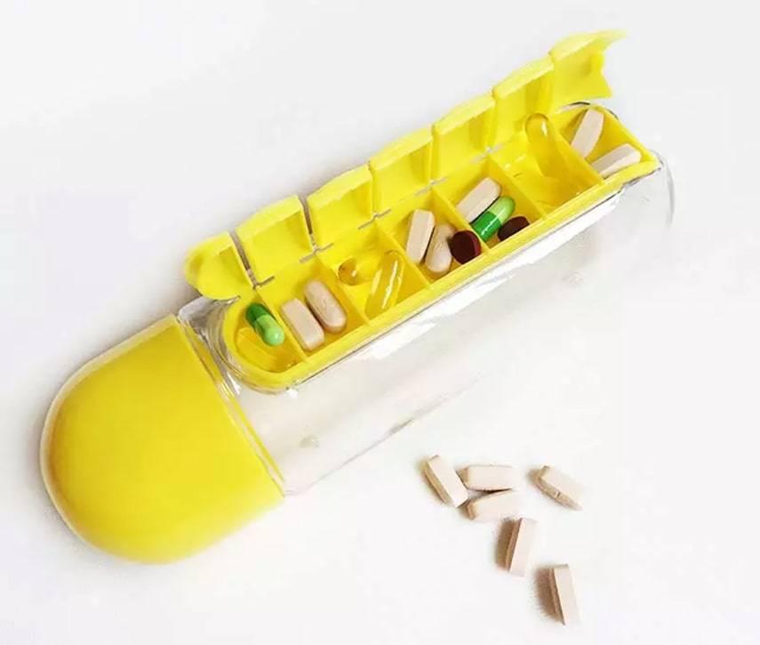 Pill Travel Bottle
