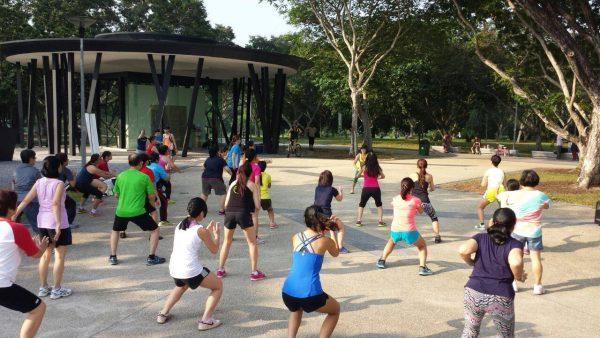 free zumba classes singapore healthy workplace ecosystem