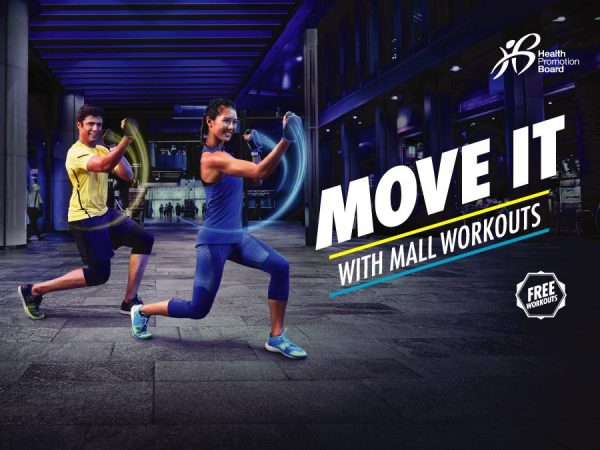 free zumba classes singapore mall workouts