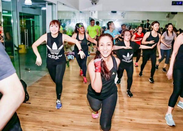 zumba classes singapore studio 360 fitness