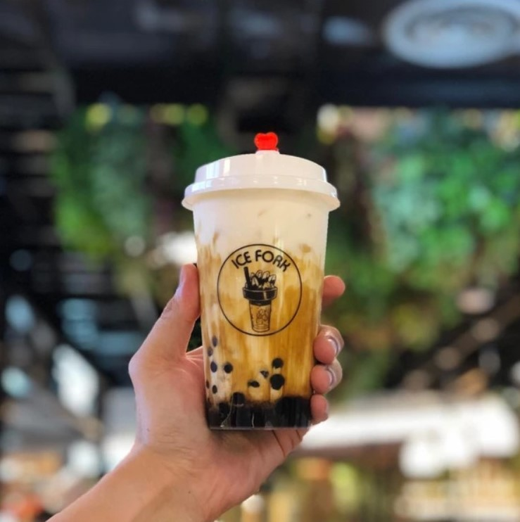 Buy 1 Get 1 Free Bubble Tea and Beverages by Ice Fork