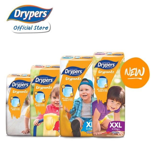 Drypers Drypantz Carton Sales