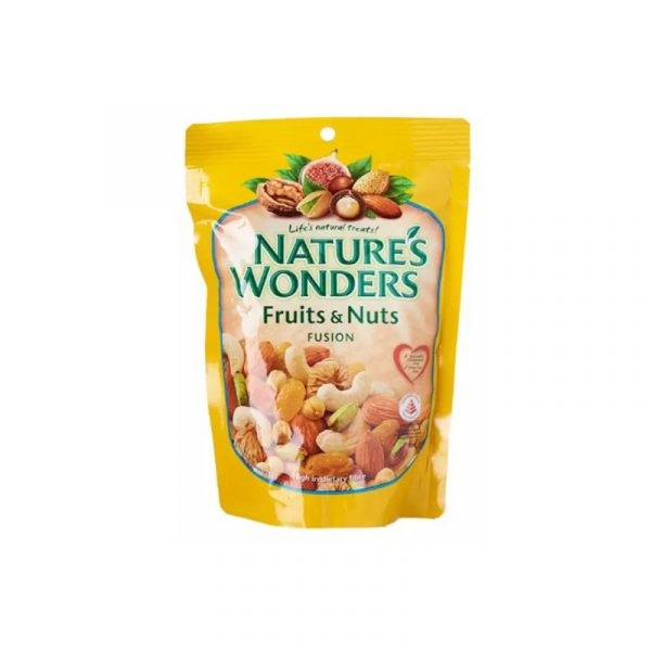 healthy snack singapore mixed nut nature's wonder fruits and nuts fusion