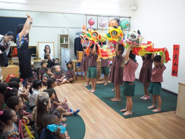 best preschool singapore etonhouse international children lion dance
