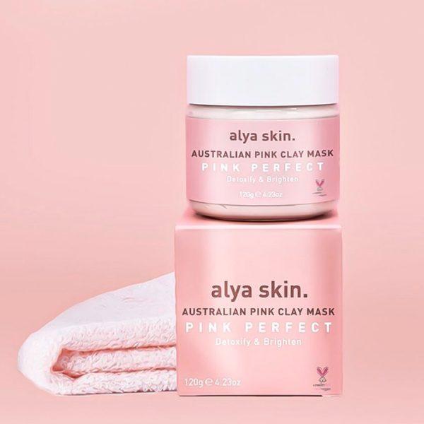 best clay mask alya skin australian pink clay mask