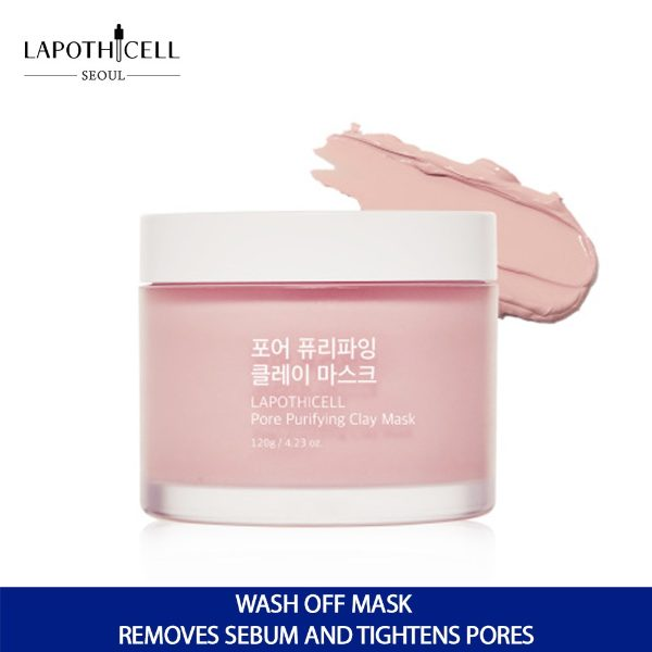 best clay mask lapothicell pore purifying clay mask