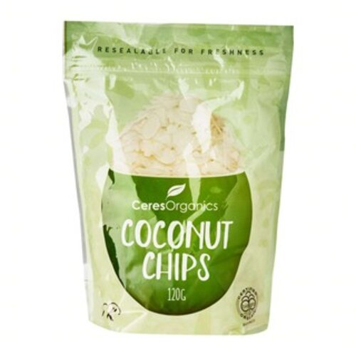 healthy snack singapore ceres organics coconut chips