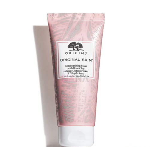 origins retexturising mask with rose clay best clay masks