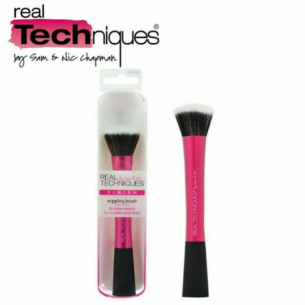 types of makeup brushes stippling brush real techniques