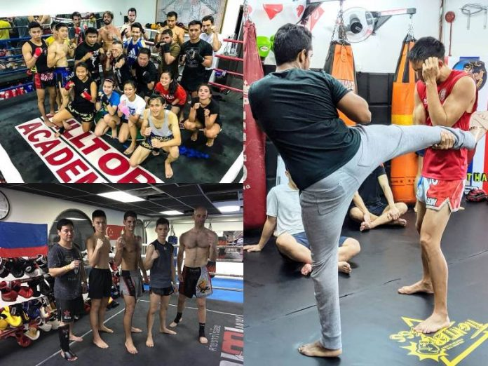 featured image muay thai gyms singapore
