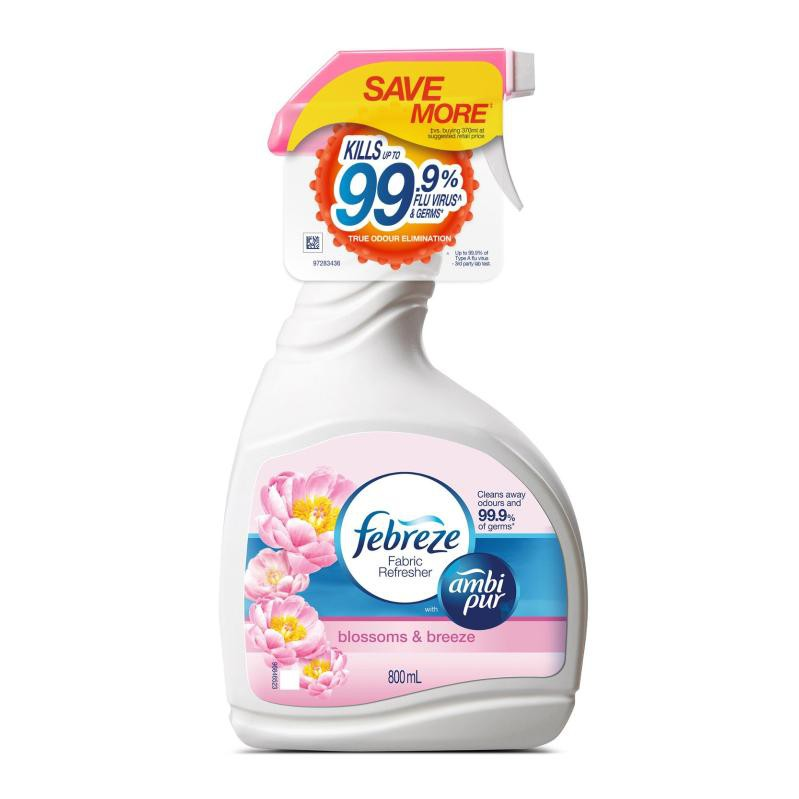 febreeze fabric spray household cleaner