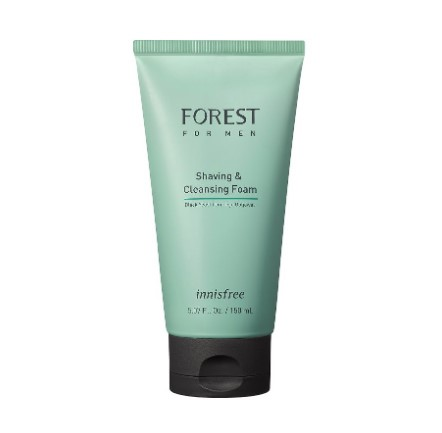 innisfree forest for men shaving cleansing foam best face washes for men