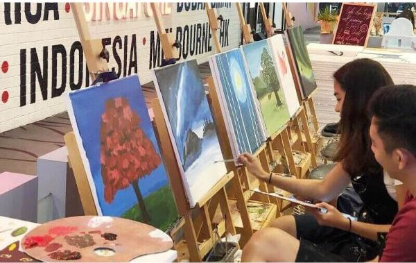 art jamming mother's day gift idea singapore