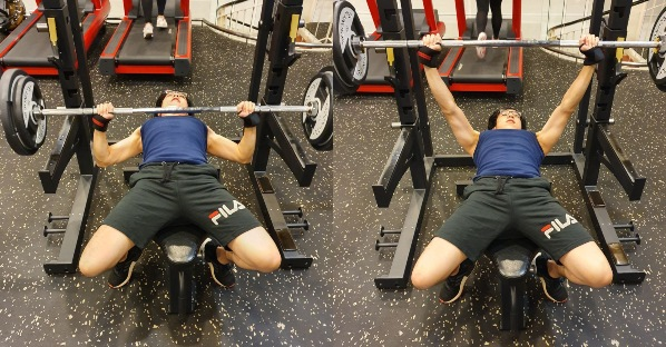 how to train for ippt bench press to improve push ups