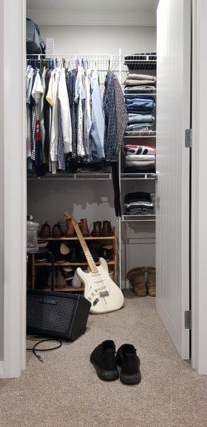 bomb shelter walk-in wardrobe ideas for small hdb flats clothes arrangement