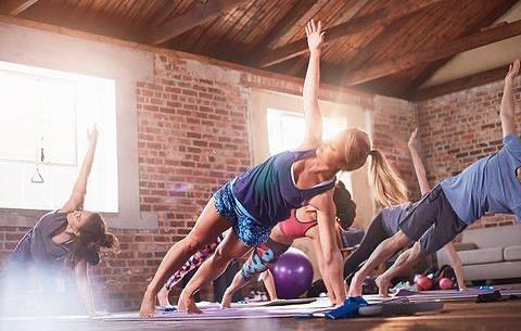 sweatbox yoga hiit class