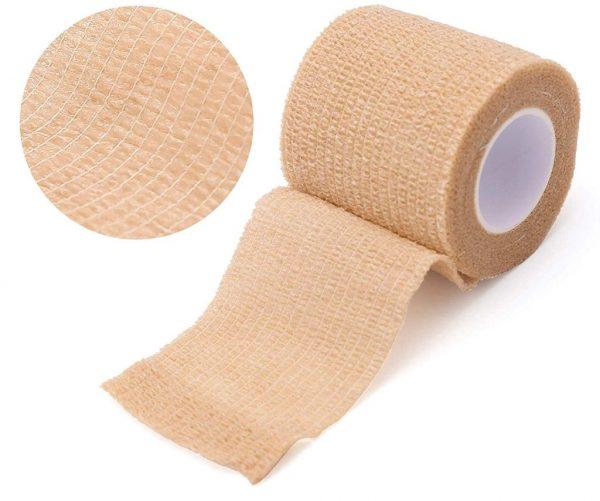 first aid box checklist adhesive bandage