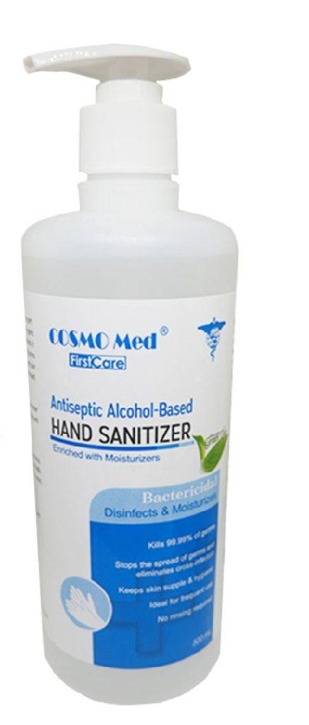 first aid box checklist antiseptic handwash