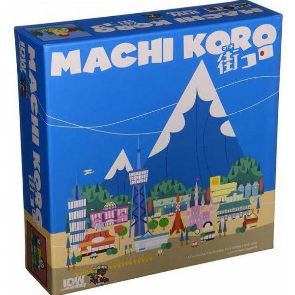 machi koro couple card game build town landmarks