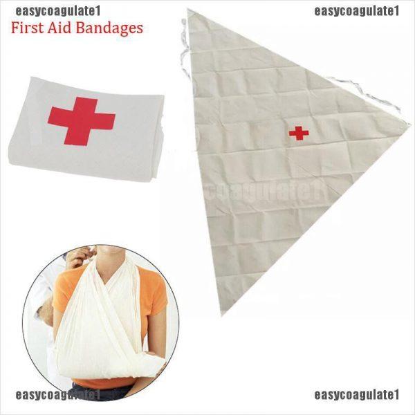 first aid box checklist triangle bandage