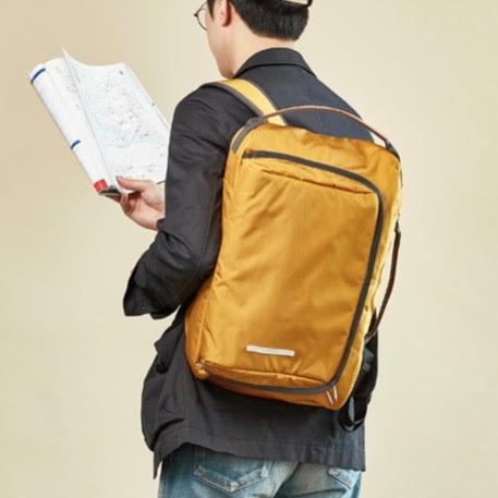 korean backpack brands bag rawrow square 2 way original bag 114 corduna 15 mustard