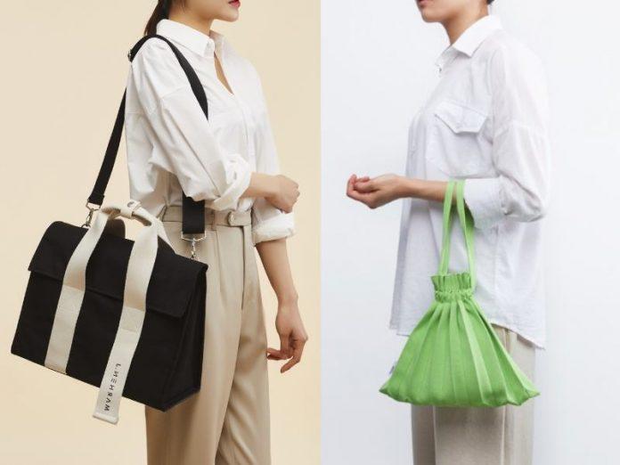 korean bag brands backpack handbag tote marhen j roy bag pleats mama mini bubble bag