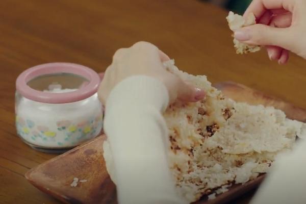 easy korean recipe kdrama crash landing on you nurungji scorched burnt rice sugar