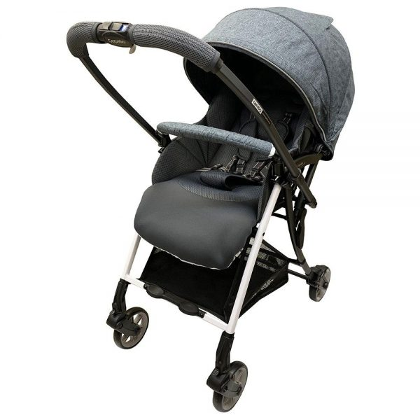 grey front-facing baby stroller best singapore