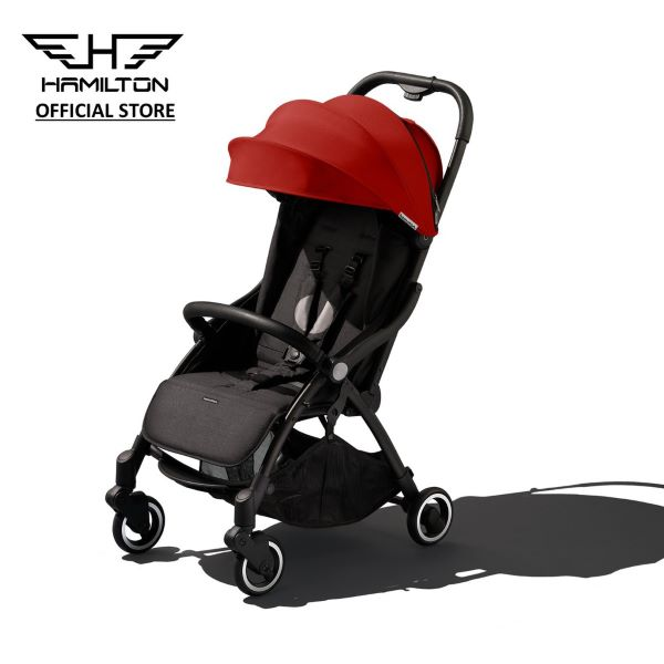 black stroller with red canopy best stroller singapore