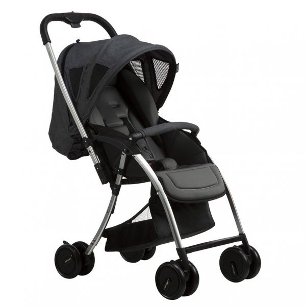 simple black stroller