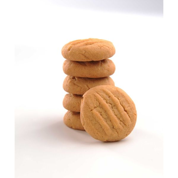 peanut butter almond hari raya cookie